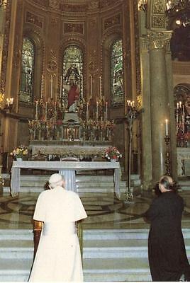 IL PAPA A MESSINA GIOVANNI PAOLO II SICILIA 1988