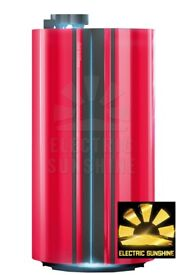 ERGOLINE ESSENCE 440 Smart Power Sunbed - INSTALATION DELIVERY TUBES -red