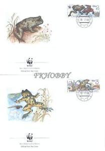 Czechoslovakia 1989 Mi FDC 3007-10 WWF Animals Pets Tiere Frogs Frösche Żaby - <span itemprop=availableAtOrFrom> Dabrowa, Polska</span> - Czechoslovakia 1989 Mi FDC 3007-10 WWF Animals Pets Tiere Frogs Frösche Żaby -  Dabrowa, Polska