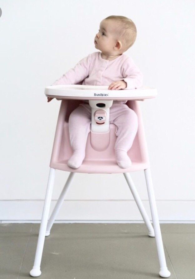 Charmant Baby Bjorn High Chair Pink