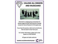 *Singer/guitarist/pianist wanted to join the Diamond family 💎