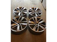 18 inch Alloy Wheels x 4
