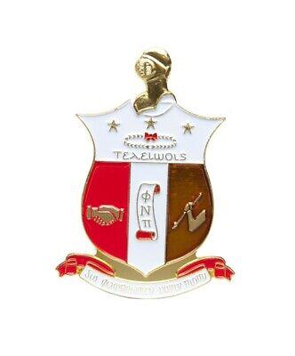 Kappa Alpha Psi Fraternity Die-Cut Car Badge-New!