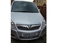2009 Vaxhuall Zafira 1.6 With Low Milage & FSH