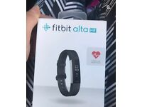 Boxed as new Fitbit Alta HR Heart Rate Fitness Band Black – Small £90 ONO