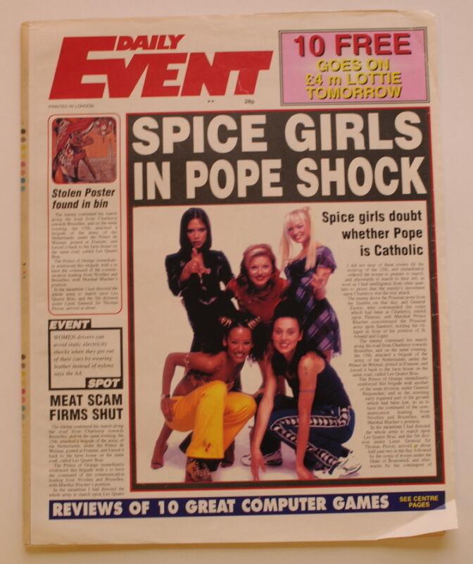 Spice Girls Spiceworld: The Movie memorabilia