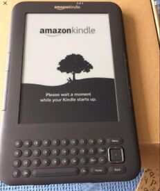 Amazon Kindle 3 eReader