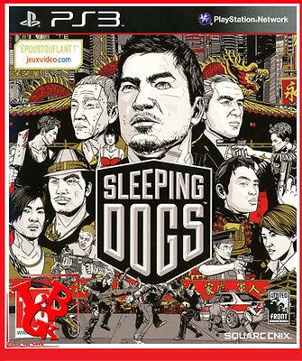 SLEEPING DOGS PS3 Playstation 3 Jeu Video Square Enix GTA Like