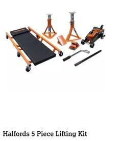halford lifting kit