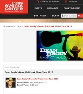 Dean Brody tickets for Dawson Creek, May 27