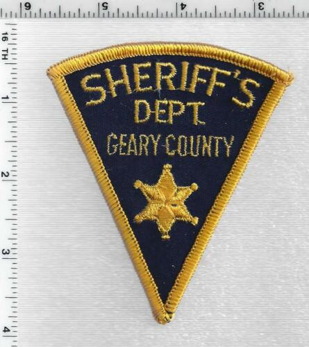 Geary County Sheriff (Kansas) 1st Issue Shoulder Patch