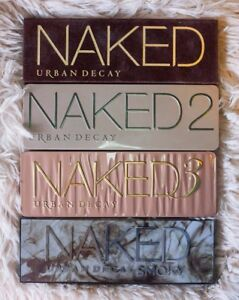 NAKED 1, 2, 3 and Smokey Palettes
