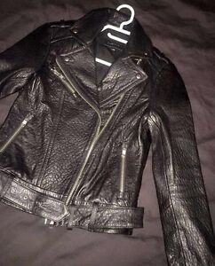 Mackage leather jacket for sale