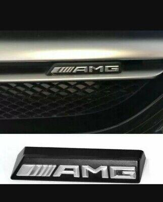 AMG Logo Schriftzug Kühlergrill E-Klasse. Mercedes-Benz NEU