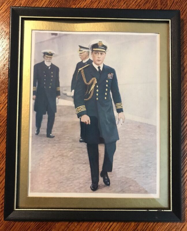 Prince Of Wales /King Edward VIII Framed Original 1920