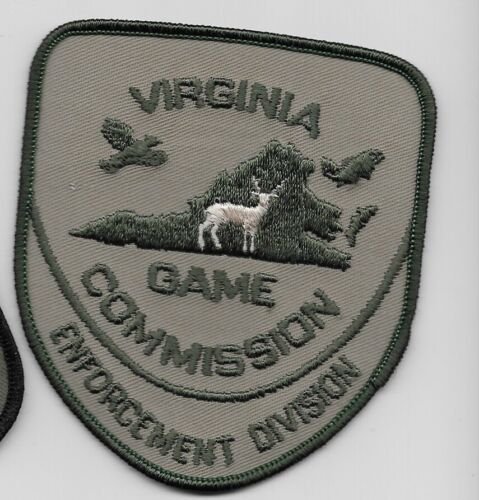 State Virginia Fish Wildlife Game Commision Police Sheriff State VA Subdued
