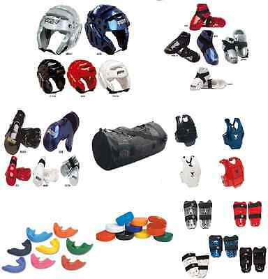 11 pc Sparring Gear Set Package Head Hand Shin Foot Chest Guard Pads Karate