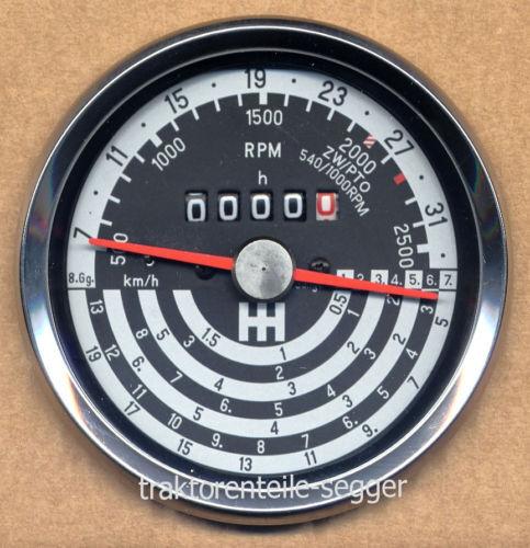 Traktormeter  IHC MC Cormik 554 624 633 644 654 844 S  McCormick  Traktor  295 Foto 1