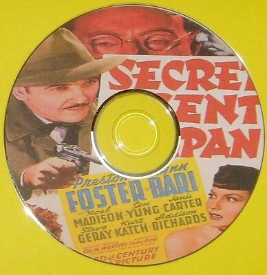 FILM NOIR 277: SECRET AGENT OF JAPAN (1942) Irving Pichel, Preston Foster