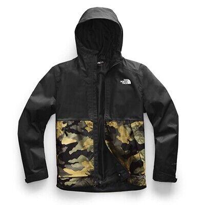 NWT The North Face Mens Millerton Jacket Olive Camo/Black Sz XL Orig $110 NICE