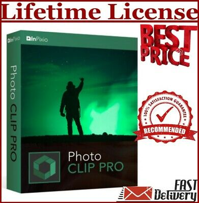 InPixio Photo Clip 9 Pro Photo Editor 🔥SERIAL NUMBER🔥OFFICIAL 30 sec -