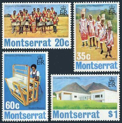 Montserrat 302-305, hinged.Michel 301-304. University of West Indies, 1974.