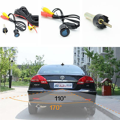 Car Reverse Parking Backup Night Vision Waterproof Camera Wide Angle Rearview