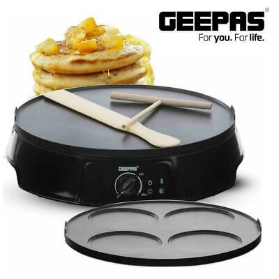 CREPE AND PANCAKE MAKER NON STICK ELECTRIC HOT COOKING PLATE DOSA 12INCH 1200W