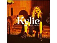2x KYLIE Golden Tour Tickets - London o2 Arena - Great Seats