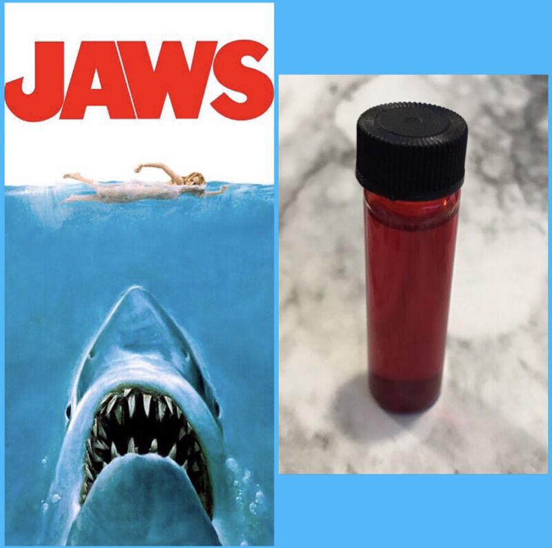 Original Screen Used Jaws Blood Vial Rare Movie Prop