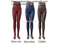 Women's Leather Leggings Pants XS/S/M/L/XL 21 colors SALE- FREE Shipping