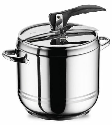 9 L Stainless Steel Stovetop Pressure Cooker Casserole Stockpot Induction Base
