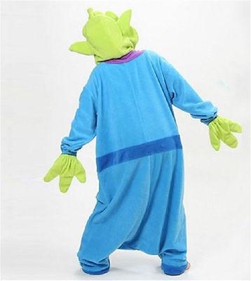 Toy Story Aliens Adult kigurumi Pajamas Unisex  Animal Loose Cosplay Costume++