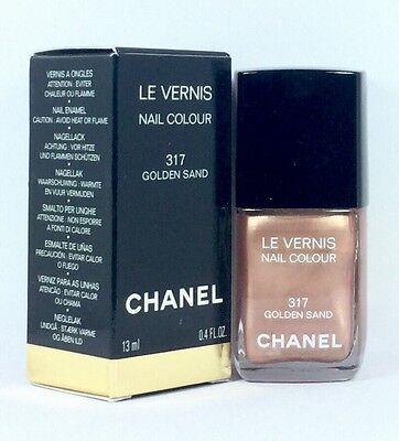 Le Vernis Nail (CHANEL LE VERNIS Nail Colour 317 Golden Sand 13ml & Original Verpackt)