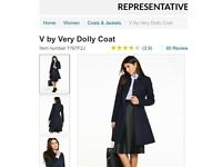 Brand new V by Very, dolly pea coat size 12