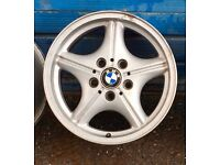 BMW 17 Alloy Rims, from X5