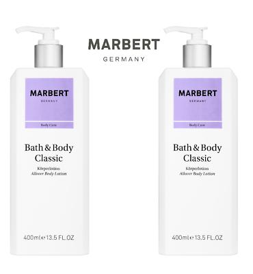 Marbert Bath Body Classic Körperlotion 2x400 ml