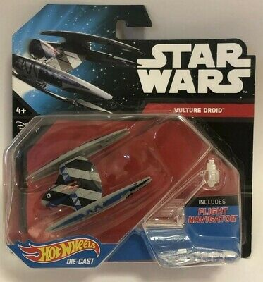 Star Wars Hot Wheels VULTURE DROID Die-Cast New Sealed Flight Navigator