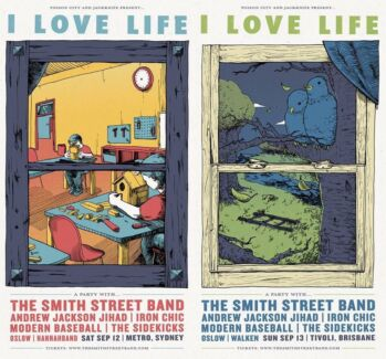 I love life festival - Smith Street Band sept 12th  Thornleigh Hornsby Area Preview