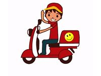 NE6 WALKERGATE TAKEAWAY SHOP DELIVERY DRIVER WANTED
