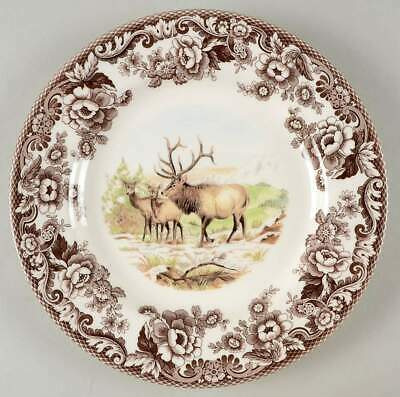 Spode Woodland Elk Dinner Plate 4680867 For Sale Online Ebay
