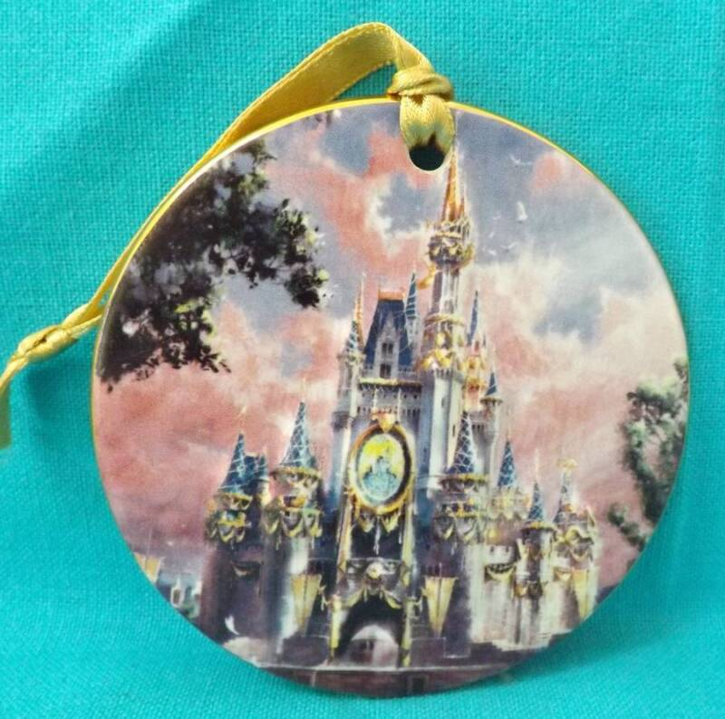 Walt Disney World The Happiest Celebration on Earth Castle Ornament