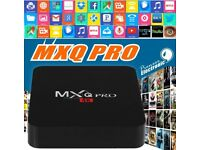 Android Box - MXQ Pro 4K. Turn your HD TV into a SMART TV system.