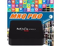 4K Android TV Box - MXQ Pro - Turn your HD TV into a SMART STREAMING TV system.