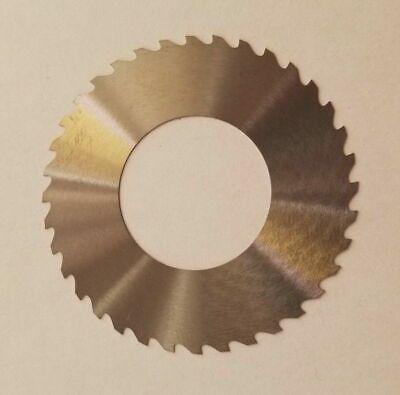 Solid Carbide Slotting Slitting Jeweler Blade Saw 1.75 X .0033 X 78 Bore Mill