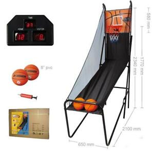 Foldable Electric Basketball Scoring Machine / Basketball Shooting Game - Ship Accorss Canada
