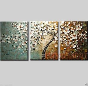 Abstract-Huge-Art-Oil-Painting-wall-decorate-Canvas-Modern-NO-frame