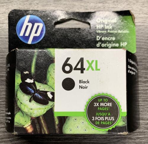 Genuine HP 64XL High Yield Ink Black Cartridge New 64 XL