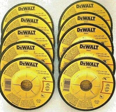 Dewalt Dw4541 Abrasive Grinding Wheels 10 Piece 4-12 In. X 14 In. X 78 In.