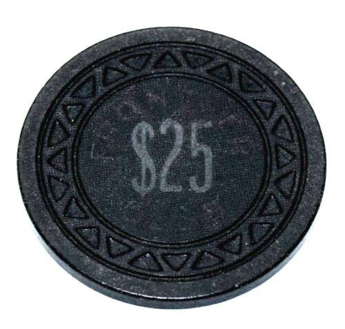 $25 Las Vegas Frontier Club Casino Chip Triang Mold 1940